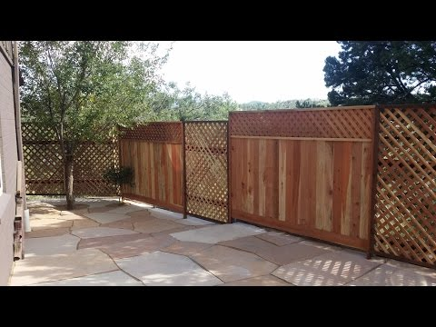 Prescott-handyman How-To Build a fence/gate