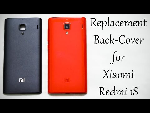 Replacement Back Cover for Xiaomi Redmi 1S [RED] - Unboxing &Review!