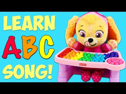LEARN the ABC Song with Paw Patrol Baby Skye!