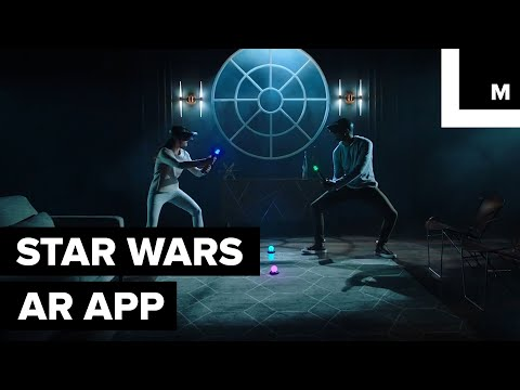 Unleash Your Inner Jedi (or Sith) With This AR Star Wars Lightsaber App