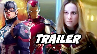 Download Avengers Endgame Trailer 2 Captain Marvel Scenes Breakdown Video