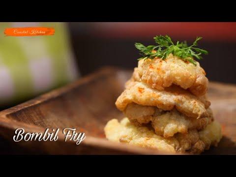 How To Make Crispy Bombil/Bombay Duck Fry(Fish) | Restaurant Style  Bombil Fry | Best Coastal Food
