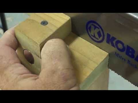 AN OLD TRICK FOR HAND CUTTING DOVETAILS