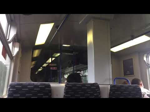 Greater Anglia Class 321 329 Southend Airport to Hockley with new Traction Motors Fitted