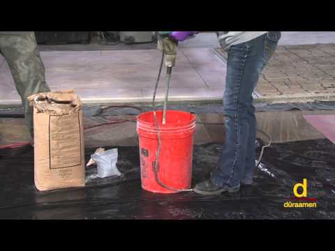 How to install Urethane Concrete Flooring System