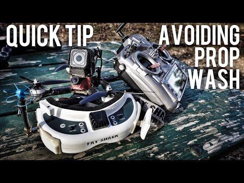 Quick Tip: Avoiding Prop Wash