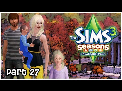 Let's Play: The Sims 3 Seasons - {Part 27} Welcome Little One