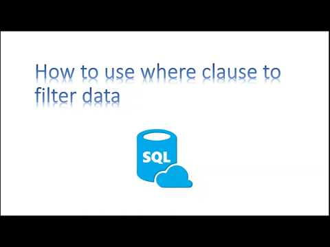 Learn SQL in 3 Minutes----Use WHERE CLAUSE to filter data examples