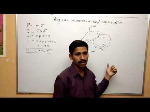 Angular Momentum and Conservation Rotational Motion Maharashtra Board Physics Class 12