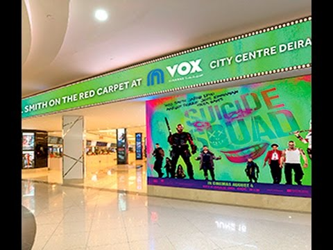 Digital Signage in VOX Cinemas, City Centre Deira