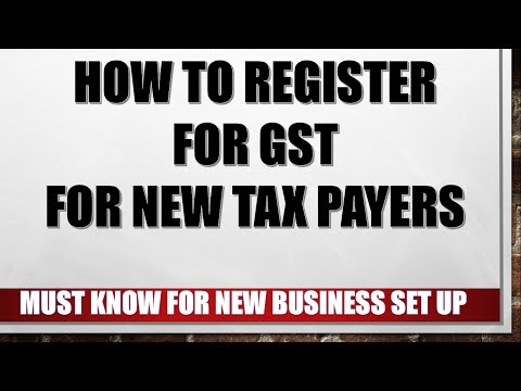 How To Register For GST For New Taxpayers In India Explained in Hindi
