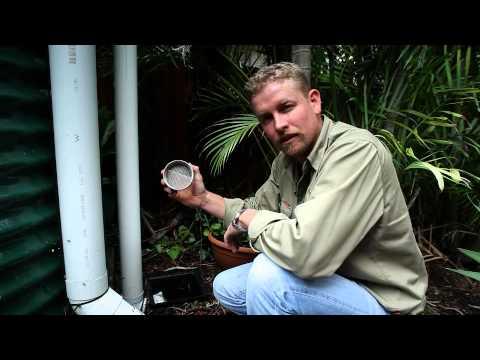 Full rainwater tank maintenance video (all clips)