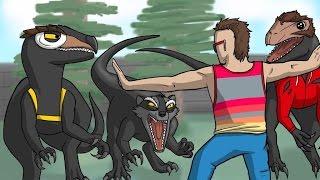 Deliriousaurus Rex! - Gmod Hide and Seek Funny Moments: Dinosaur Edition