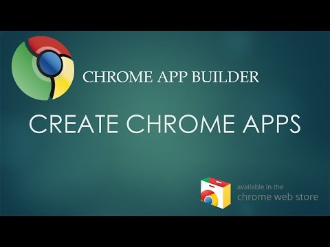 How to create a Kiosk App using Chrome App Builder