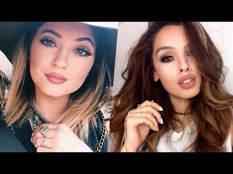 Kylie Jenner Makeup Tutorial ♡ 2014