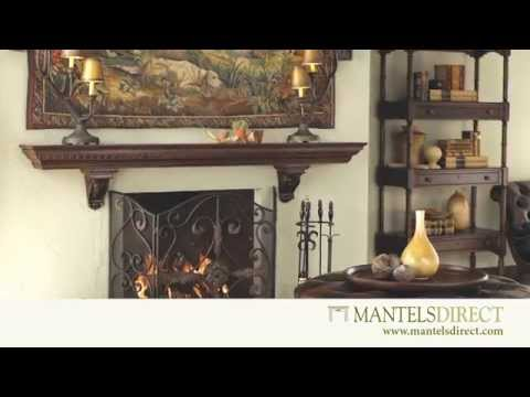 Fireplace Mantel Surrounds and Accessories | Mantels Direct | 1-888-493-8898