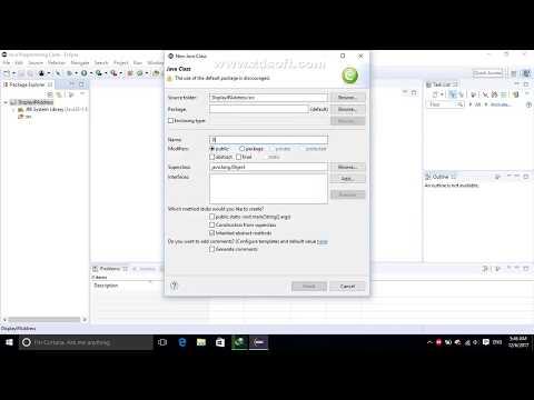 Java Programming - Display IP Address On Your Computer (Eclipes)