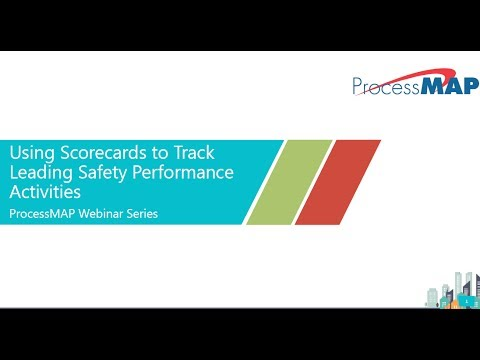 [Webinar] – Using Scorecards to Track Leading Safety Performance Activities