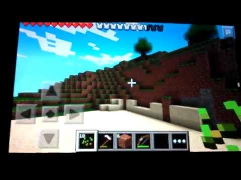 Snowball machine gun in Minecraft PE (Patched)