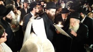 Mariage de Yossef Pinto et Sarah Benhamou - Houpa