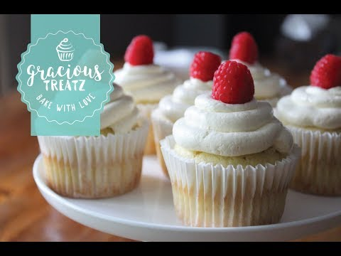 Moist Raspberry & Coconut Cupcakes Recipe