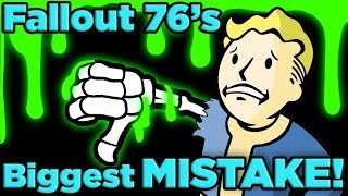 The BIGGEST Mistake of Fallout 76 EXPLAINED! | The SCIENCE!... of Fallout 76