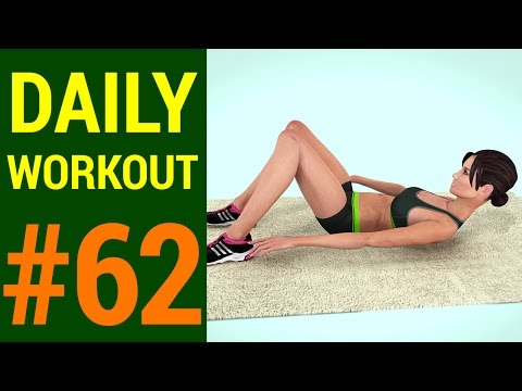 Daily Workout - Day #62: At Home Quick ABS Workout (233 Calories)