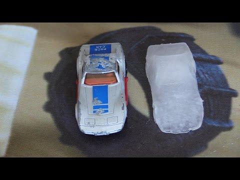 Make Custom Fancy Ice Cubes (Ice Cube Mold Making)