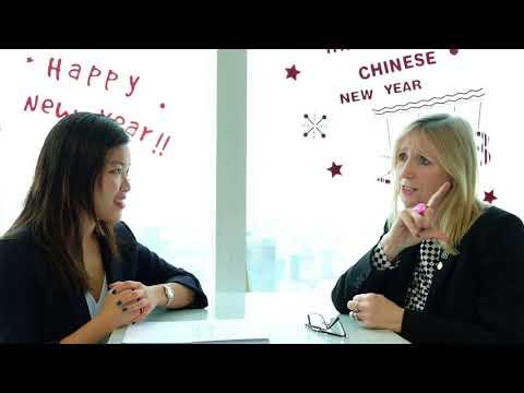 Gigi Yeung, senior consultant in Shanghai, interviews Aldagh McDonogh