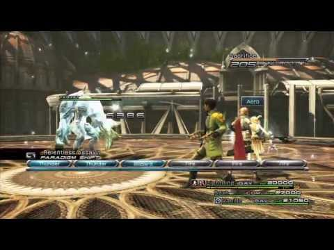 Final Fantasy XIII | Omega Weapon (Upgrade from Ultima Weapon) + ATB Gauge Additional