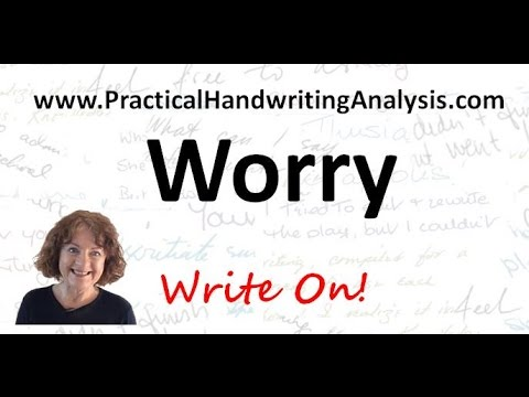 Personality from Handwriting Signature – The Worry Loop (Graphology)