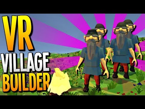DEFENDING OUR VILLAGE AND BECOMING THE DWARVEN KING - Guiding Hand VR Gameplay - VR HTC Vive