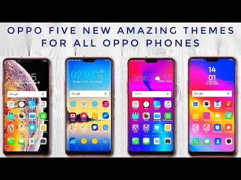 Oppo Five New Amazing Themes For All Oppo Phones