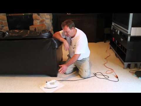Removing Carpet Dents