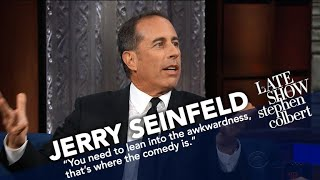 Jerry Seinfeld Talks Bill Cosby, Whether He Can Separate The Man From The Body Of Art