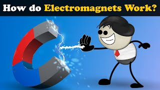 How do Electromagnets Work? + more videos | #aumsum #kids #science #education #children