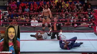 WWE Raw Shakeup 4/16/18 Dolph Ziggler to Raw with Company