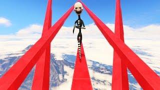 ULTIMATE PUPPET MASTER DEATHRUN! (GTA 5 Mods For Kids FNAF Funny Moments)