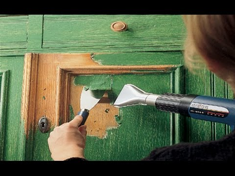 How to : Paint Stripping with Hot Air Gun, Heat Gun