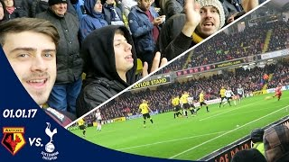 WATFORD V SPURS 1-4 (01.01.17) | A FAN EXPERIENCE