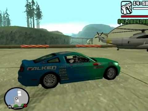 gta san andreas (VAUGHN GITTIN) drift car