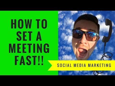 Social Media Marketing 2018 - Watch me set an appointment EASY *Broken down and analyzed*