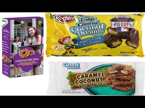 Girl Scouts vs Keebler vs Great Value: Coconut Cookie Blind Taste Test