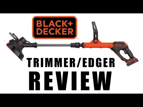 BLACK + DECKER LSTE525 Trimmer / Edger Review or Weed Eater
