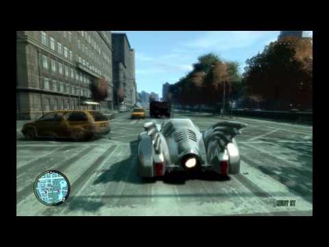 Nursery Rhymes Batman drive the Batmobile and Lightning McQueen