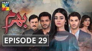 Bharam Episode #29 HUM TV Drama 11 June 2019