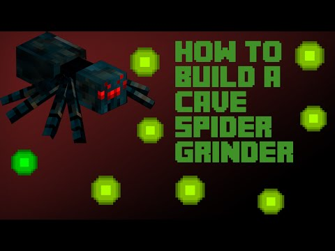 How to get XP #1 - Cave Spider Grinder