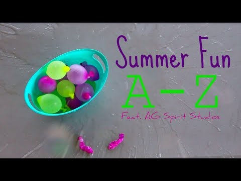 Summer Fun A-Z FEAT. AG Spirit Studios (American Girl Stopmotion)