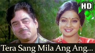 Tera Sang Mila Ang Ang Khila (HD) - Sherni Songs - Sridevi - Shatrughan Sinha - Sadhana Sargam
