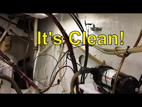 Engine Room Clean Up and Paint